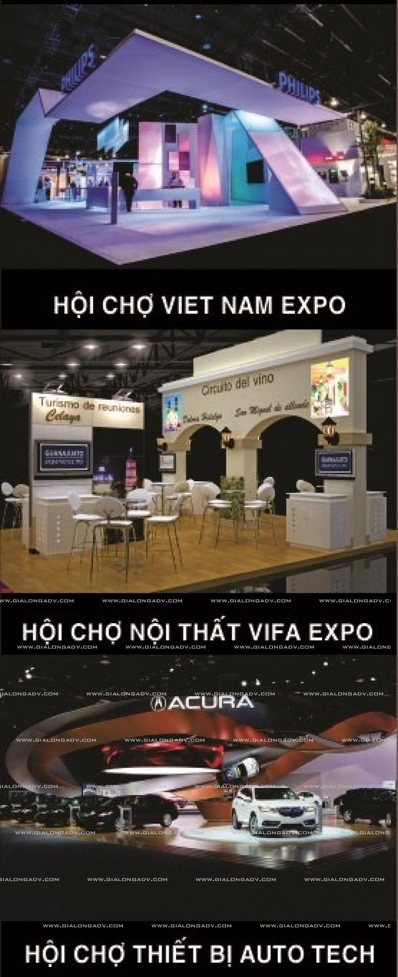 gian hang hoi cho banner dai