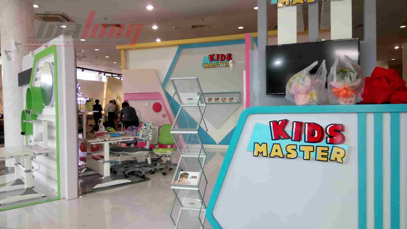 KIDS MASTER gian hàng Triển lãm VIFA EXPO chuyên các sản phẩm dành cho trẻ em