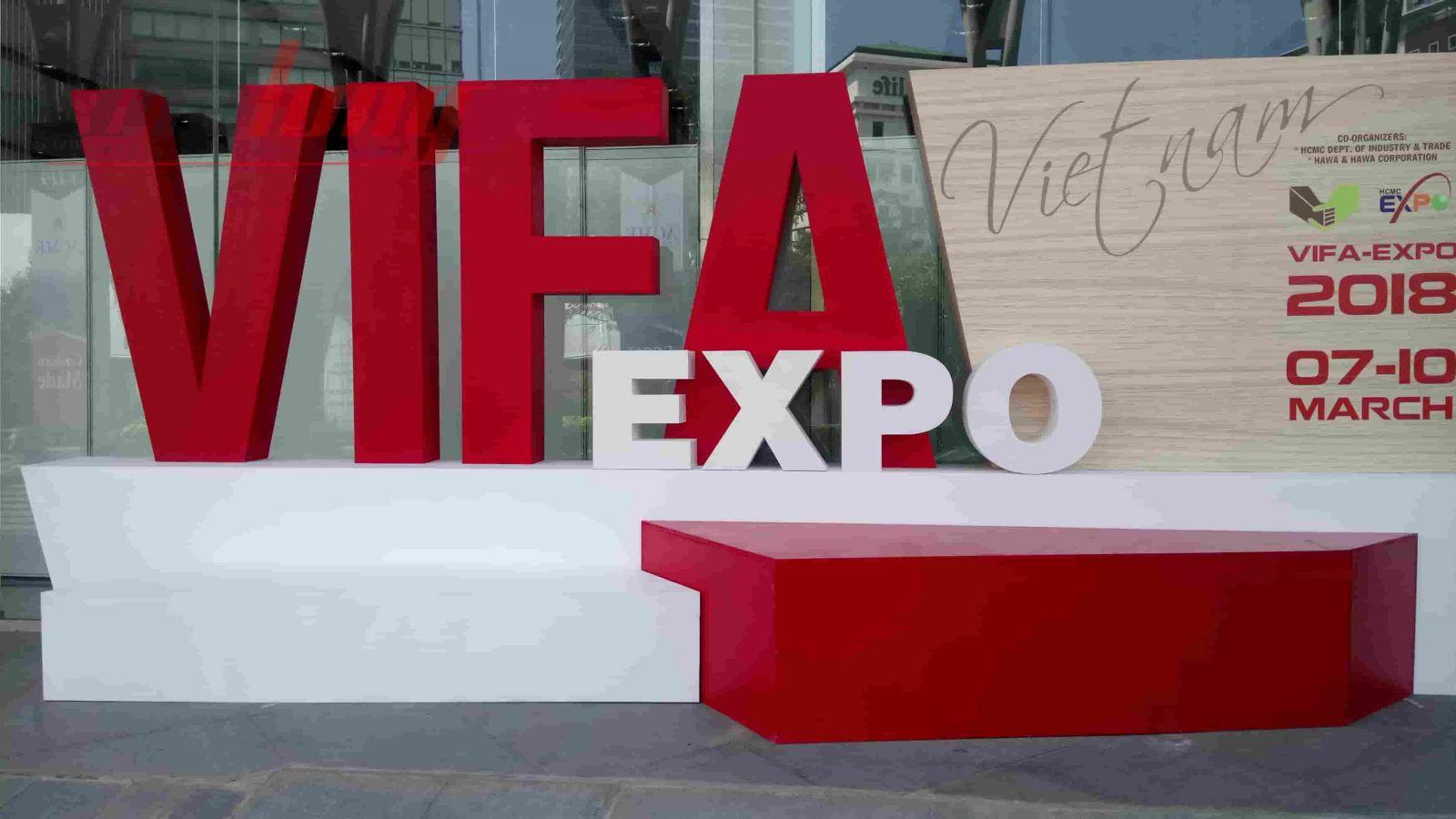 Khai mạc gian hàng Triển lãm VIFA EXPO 2018