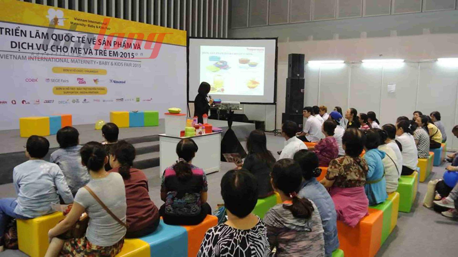 Hội thảo dành cho phụ huynh khi tham gia Triển lãm Quốc tế Sản phẩm dịch vụ cho Mẹ bầu, Mẹ và Trẻ em