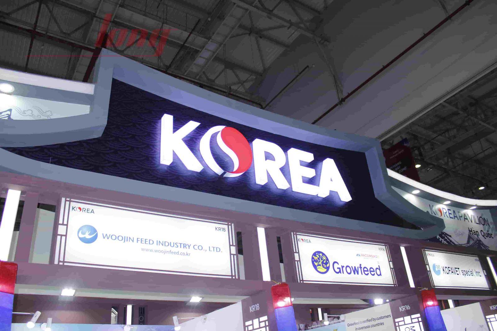 Thi công gian hàng ILDEX VIETNAM 2018 diện tích 120 m² - KOREA-1