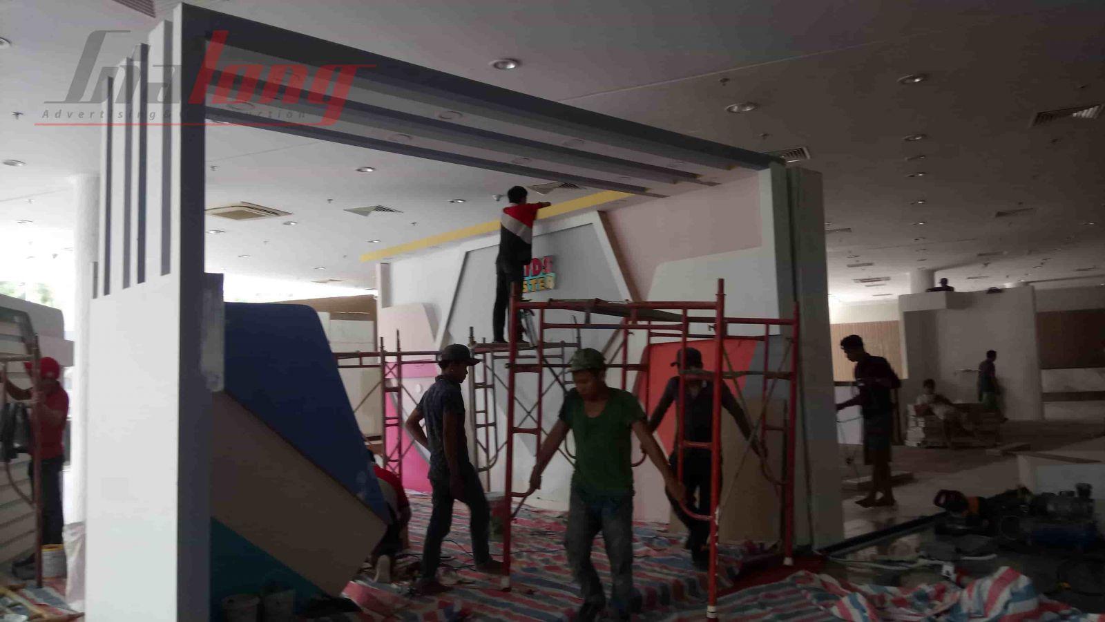 Hình ảnh  đơn vị thi công gian hàng Triển lãm VIFA EXPO 2018