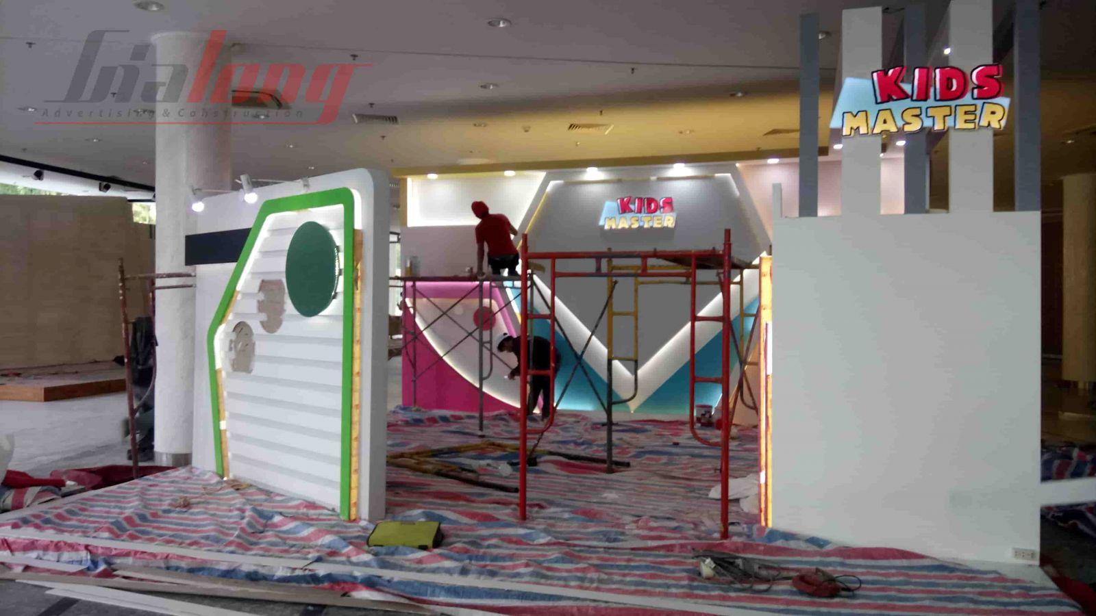 Thi công gian hàng VIFA EXPO 2018 - KIDS MASTER
