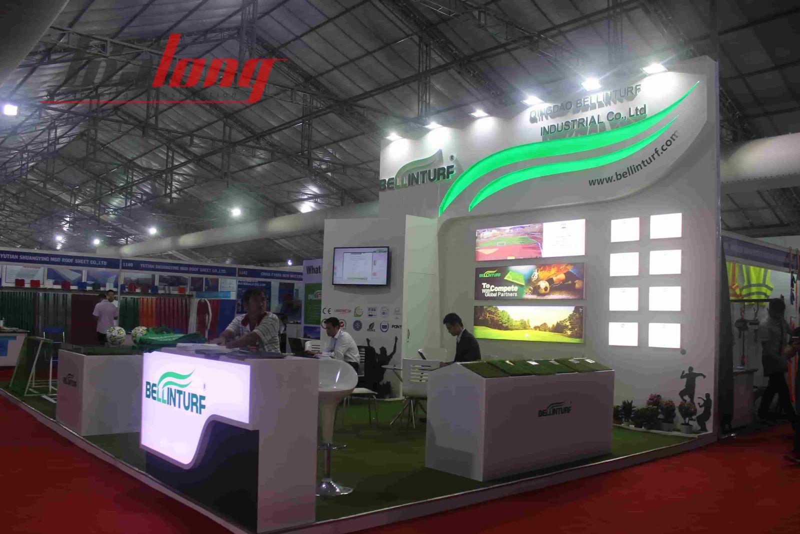 Một số gian hàng Triển lãm Quốc tế về Sản phẩm, dịch vụ Viễn thông ICT COMM VIETNAM 2018