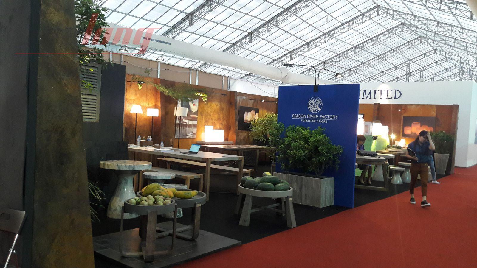 Gian hàng Hội chợ Quốc tế Đồ gỗ và Mỹ nghệ xuất khẩu Việt Nam - Triển lãm VIFA EXPO