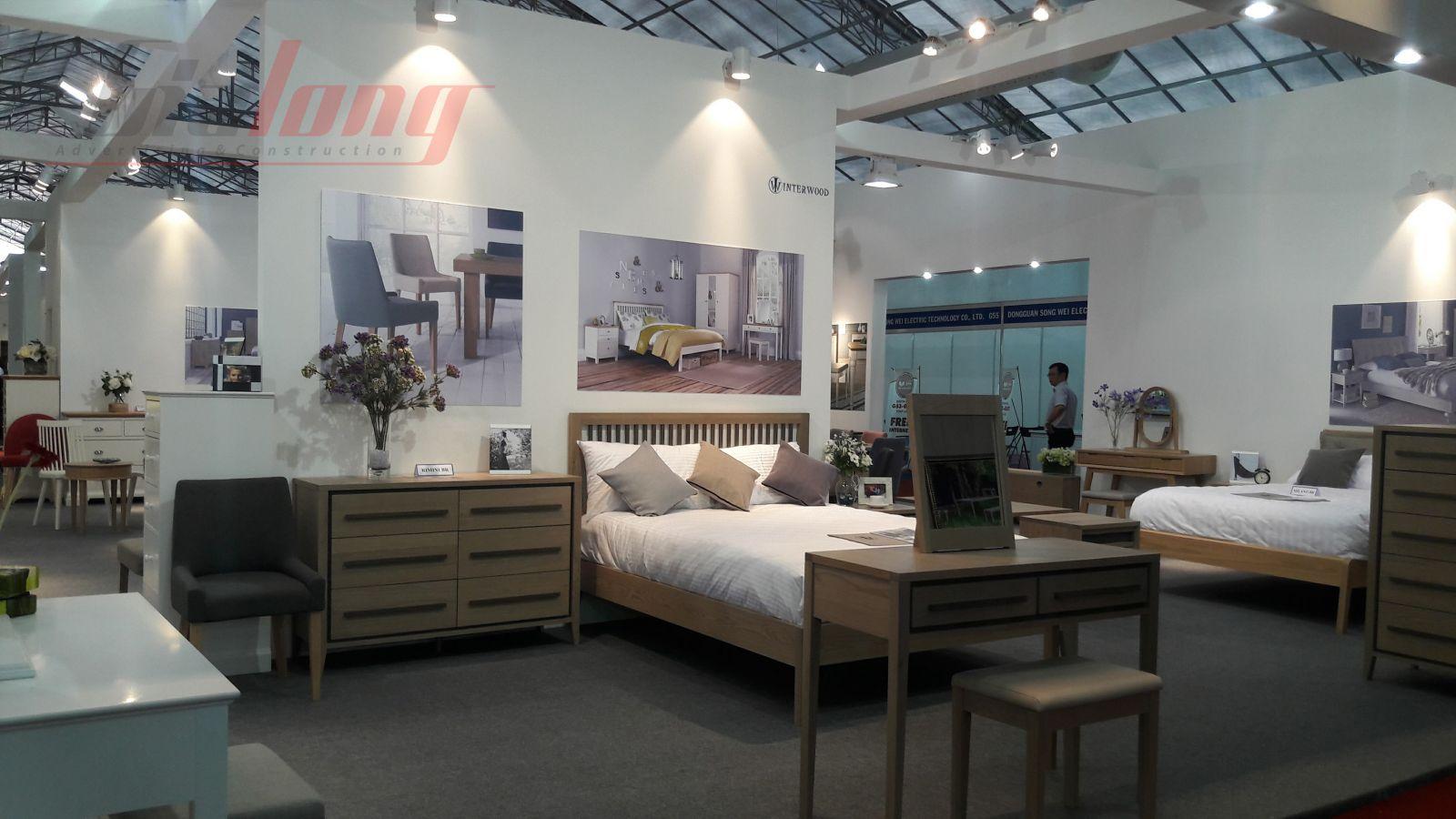 Hình ảnh gian hàng Hội chợ Đồ gỗ và Mỹ nghệ xuất khẩu Việt Nam - Triển lãm VIFA EXPO